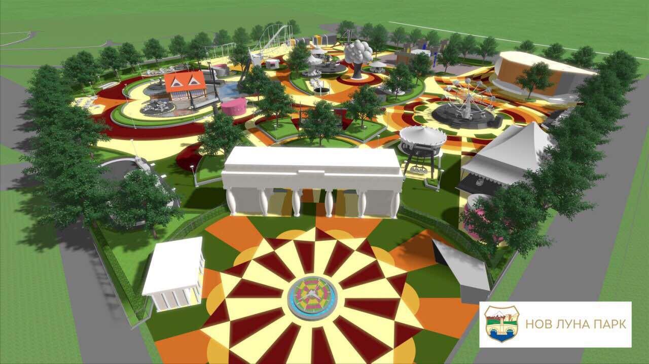 Ексклузивно видео  Градоначалникот Трајановски објави како ќе изгледа новиот Луна парк