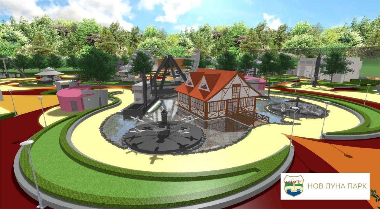 По 45 години  Скопје ќе добие нов забавен парк  ГАЛЕРИЈА
