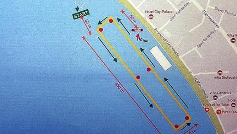 Десеткилометарски олимписки маратон за првпат денеска на Охридското Езеро