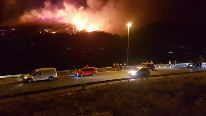 Голем пожар во скопско Кондово