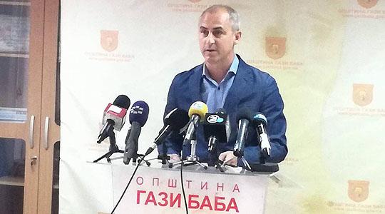 Трајковски со отчет  Во општина Гази Баба се реализираа стотици проекти кои ги подобрија условите за живот на граѓаните