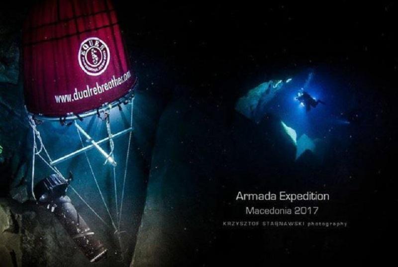 Трајановски  Срушен досегашниот рекорд на подводната пештера Врело на Матка