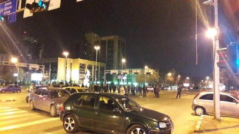 ВМРО ДПМНЕ и денеска на протест   блокада на крстосници