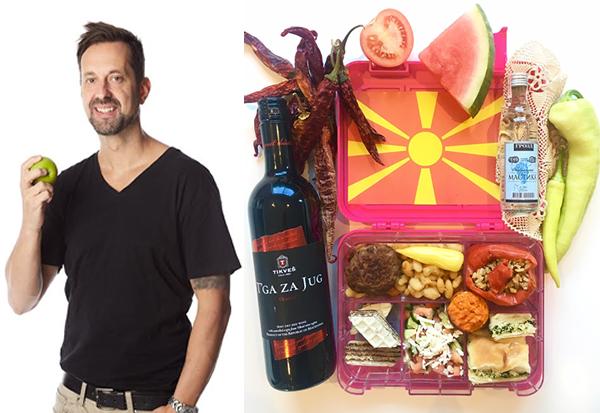 Македонец од Австралија  Инспириран од виножитото секој ден прави здрави училишни оброци