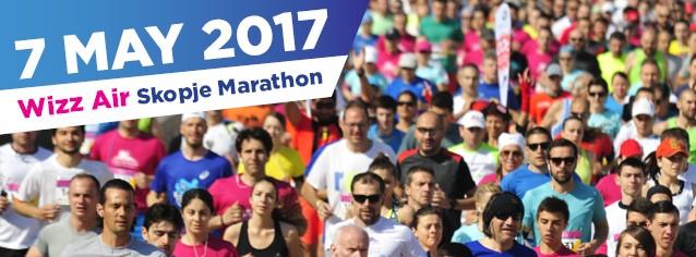 Побрзајте  Претпоследен бран за пријавување за Виз Ер Скопскиот маратон