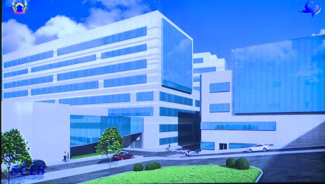 Потпишан Договорот за изградба на новиот клинички центар во Скопје