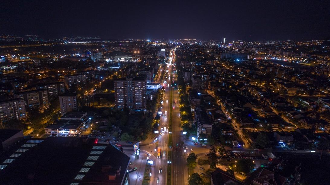 Пет ноќни фотографии за Денот на Скопје