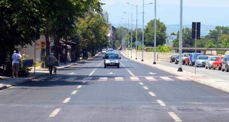 Во сабота вечер затворен дел од улицата  Јордан Мијалков