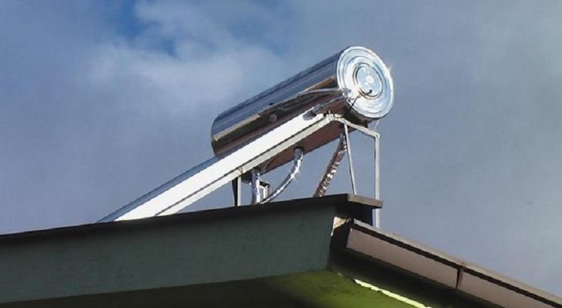 Соларен систем поставен во објектот  Бамби  во Аеродром