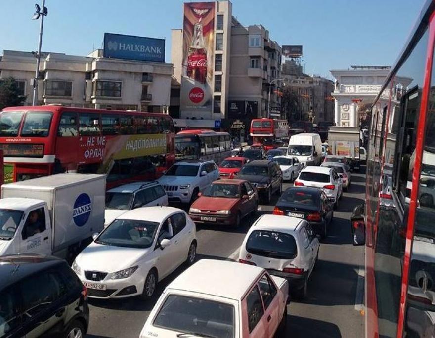 Град Скопје  Нема забрани за возила од други градови  работиме на одржливи решенија