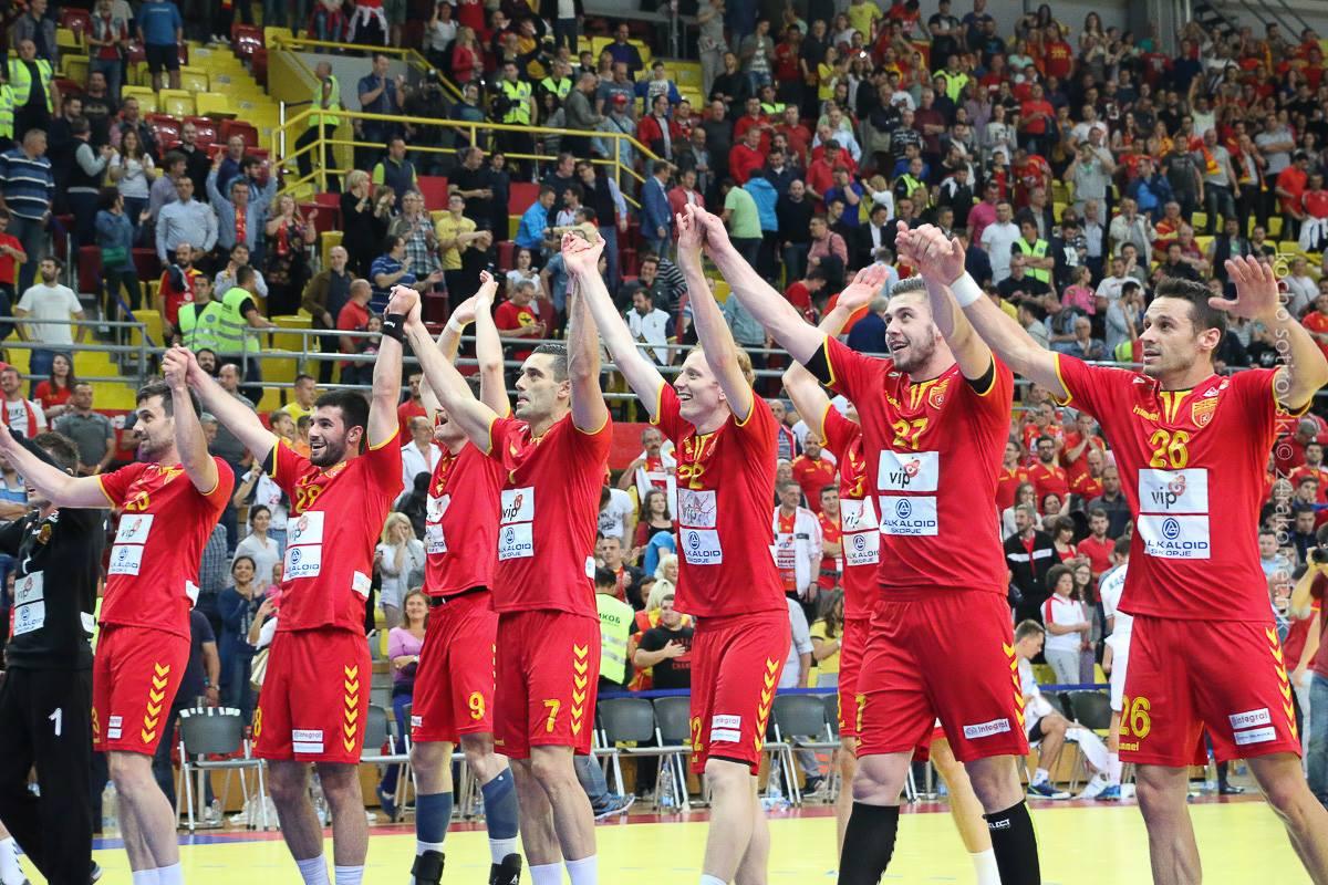 Словенија на колена  фантастичен почеток на македонските ракометари на ЕП
