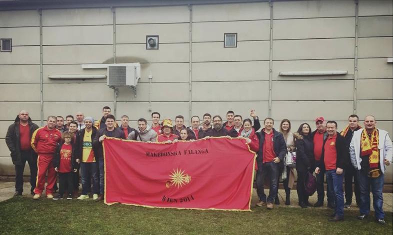 Само за Македонија нека се вејат знамиња победнички   Фалангата  од дијаспората се мобилизираше
