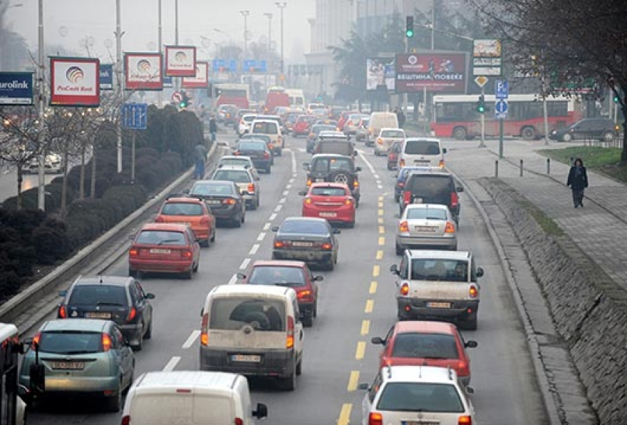 Во Скопје нема да се влегува со автомобил   за граѓаните од другите градови паркирање само на периферија