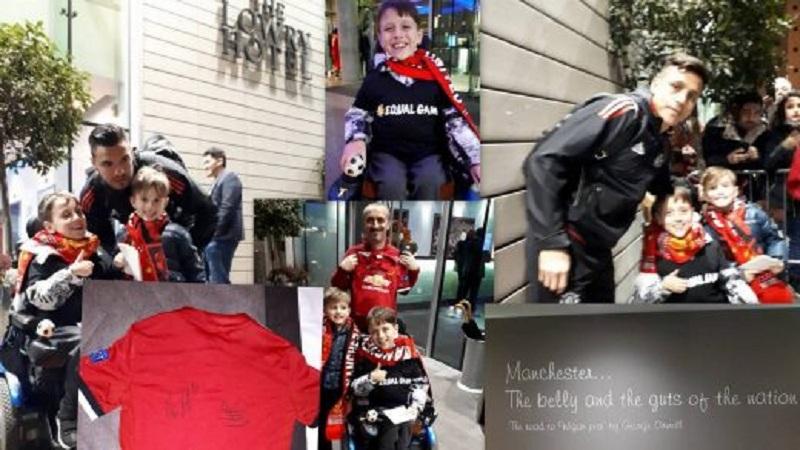 Младиот херој Јане меѓу светските фудбалски ѕвезди од Манчестер